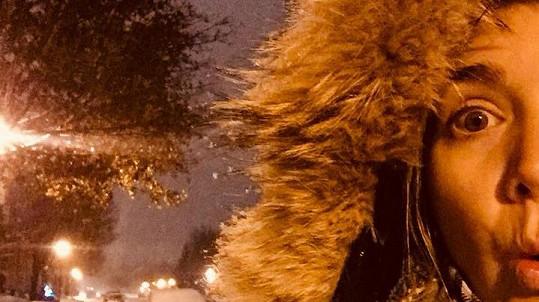 Lucie Vondráčková a její kanadská vánoční zima