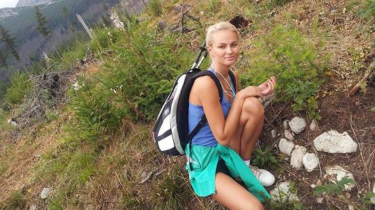Tereza Fajksová je i nenalíčená krásná.