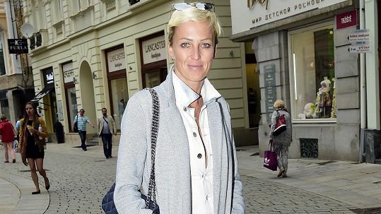 Zuzana Belohorcová a její nový look