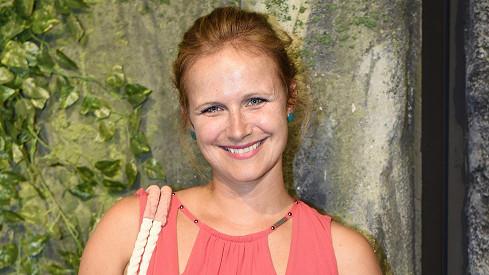 Kristýna Fuitová Nováková zářila jako sluníčko.