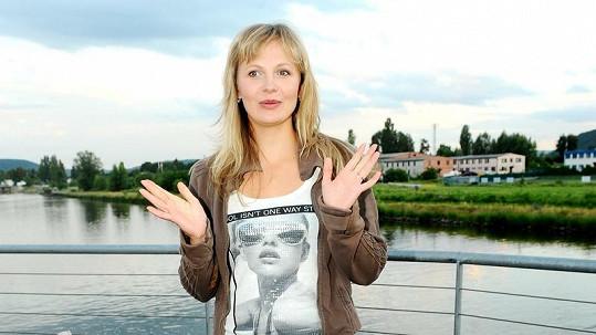 Míša Badinková má rok po porodu.