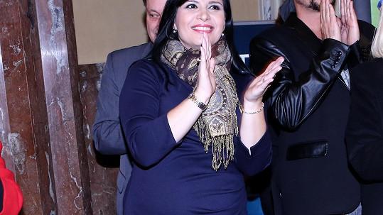 Andrea Kalivodová je podruhé těhotná.