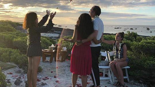 Salma a Francois-Henri obnovili svatební slib.