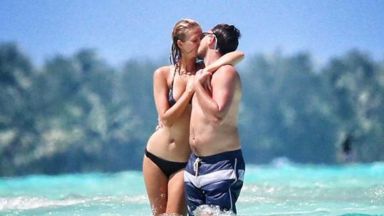 Leonardo DiCaprio s modelkou Toni Garrn