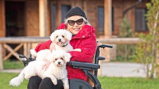 Marika Gombitová má nový vozík do terénu.