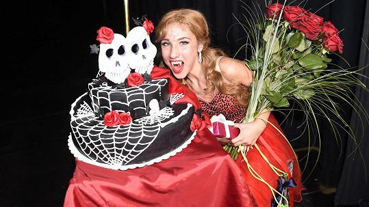 Natálie Grossová slavila narozeniny.