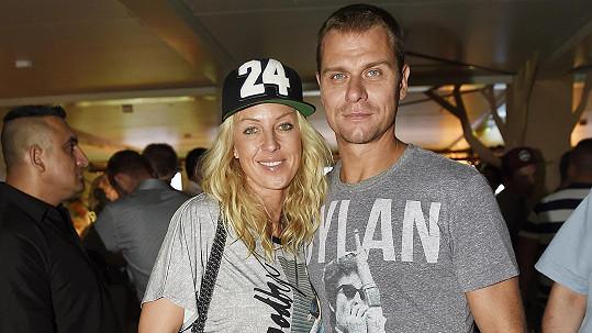 Zuzana Belohorcová si s manželem Vlastou Hájkem nenechala ujít karlovarský filmový festival.