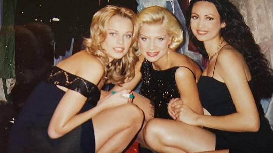 Helena Houdová (vlevo) vzpomínala na Miss World