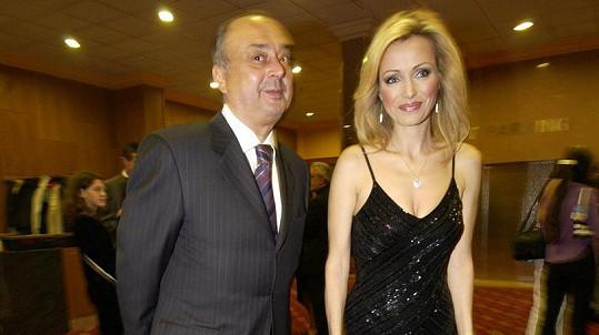 Peter Kovarčík s bývalou přítelkyní Kateřinou Brožovou