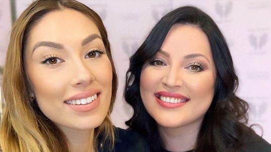 Ivana Christová s dcerou
