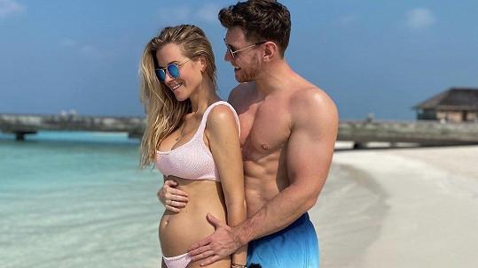 Veronika s přítelem Mirkem Dubovickým