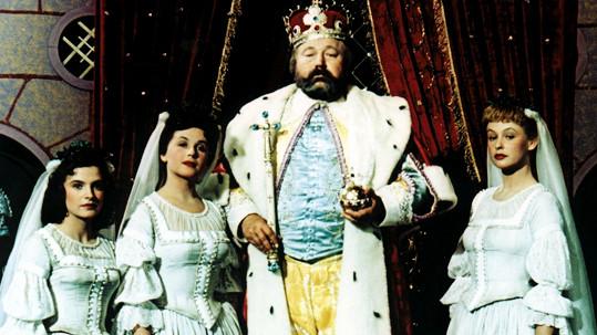 Pohádka Byl jednou jeden král se letos vysílá na Štědrý den.