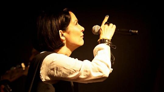 Anna K. na svém probíhajícím turné.