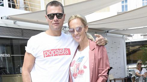 Zuzana s manželem Vlastou Hájkem