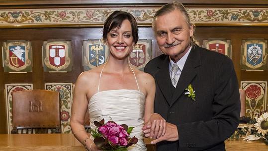 Tereza Brodská a Pavel Soukup si zahráli manželský pár.