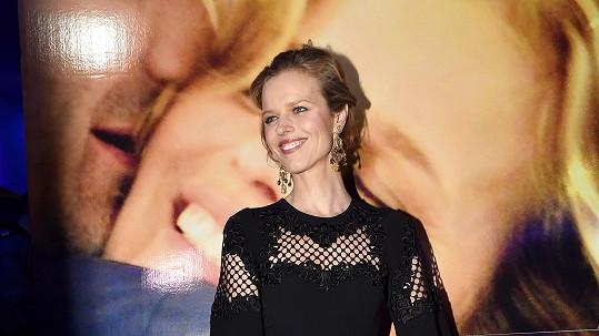 Eva Herzigová je krásná i naživo.