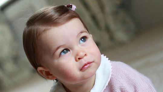 Charlotte 2. května oslaví první narozeniny.