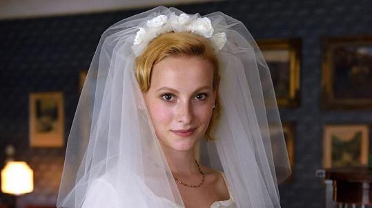 Anna Fialová opět jako nevěsta