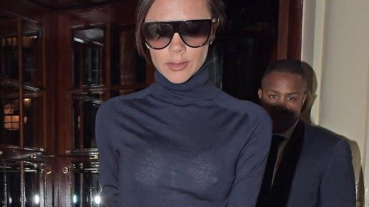 Victoria Beckham byla sexy. Ale omylem.