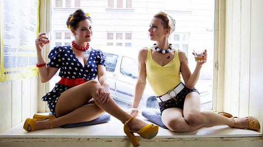Bára Vaculíková a Lenka Yellow Jankovcová alias mateřská.com