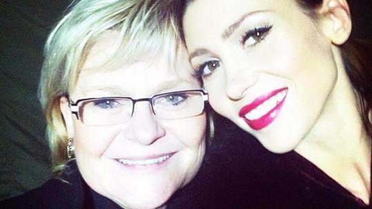 Tereza Kerndlová s maminkou Miladou.