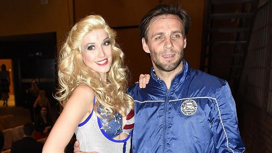Petra Vraspírová s přítelem Romanem Vojtkem