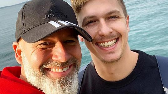 Honza Musil s partnerem Jakubem