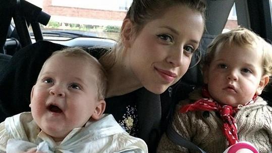 Peaches Geldof se svými dvěma syny