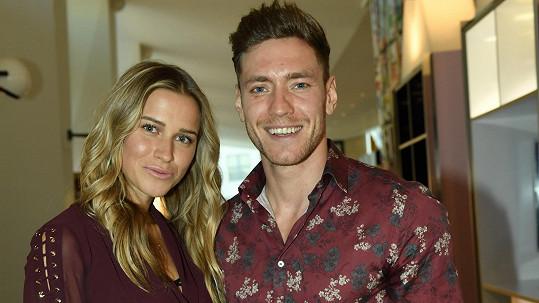 Veronika s přítelem Mirkem