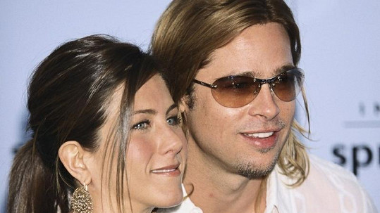 Brad Pitt s Jennifer Anniston.