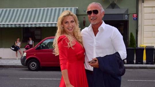 Lia s expartnerem Richardem Chladem