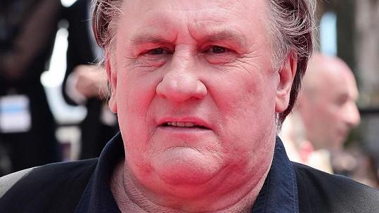 Gérard Depardieu přijel do Cannes podpořit svůj poslední film.