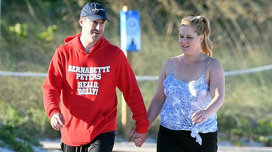 Amy Schumer s manželem Chrisem Fisherem