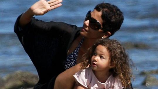 Halle Berry s dcerou Nahlou.