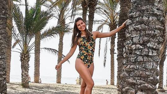 Veronika Lálová odjela na pár dní k moři.