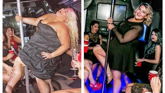 Ačkoliv už se u ní obezita velmi rozvinula, smysl pro humor Candace nikdy neztratila...