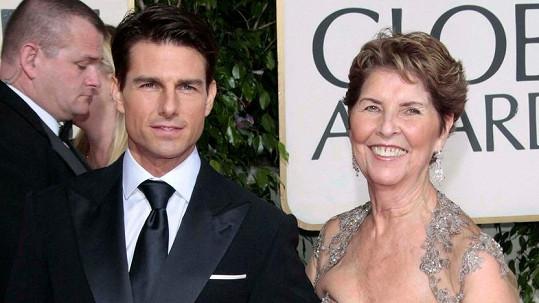 Mary Lee svého syna často doprovázela na společenské akce. Foto ze Zlatých glóbů 2009