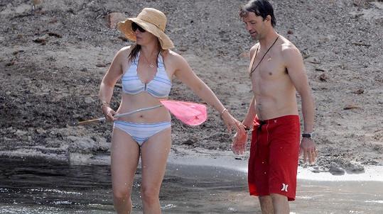 Kate Winslet s manželem Nedem Rocknrollem