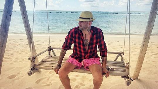 Sámer Issa je na Maledivách