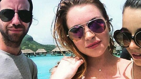 Lindsay Lohan si z dovolené přivezla nežádoucí suvenýr.