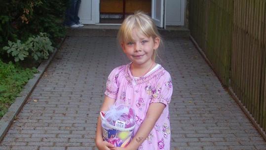 Dcera Martina Maxy Emička je vážně roztomilá.