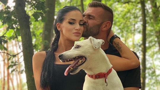 Andrea Pomeje a Petr Plaček tvoří opravdu krásný pár.
