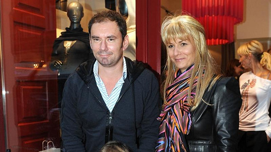 Emanuel Ridi s manželkou Janou a synem Giacomem.