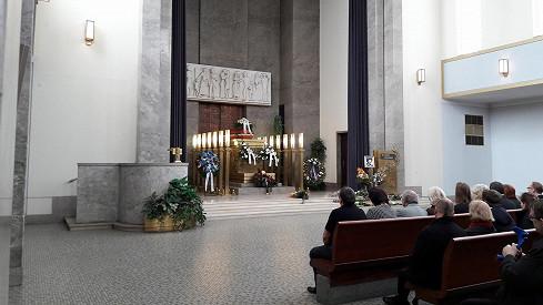Pohřeb Libuše Havelkové