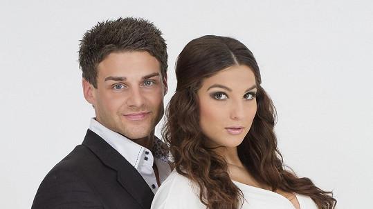 Michal Šeda s přítelkyní Lenkou Hovorkovou