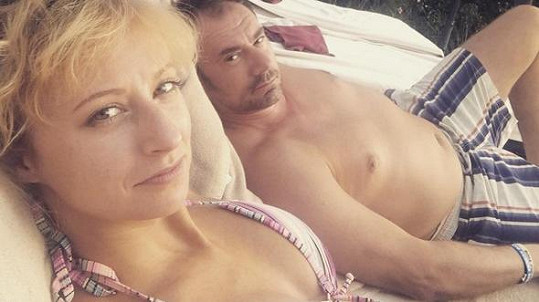 Lucie Hunčárová a Emanuele Ridi relaxují ve Slovinsku.