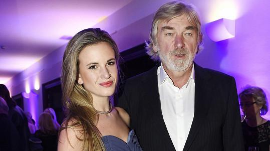Vladimír Kratina s dcerou Dominikou