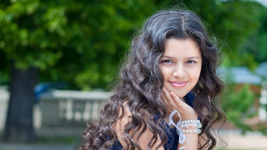 Dianka Kalashová se změnila v modelku. Vypadá rozkošně.