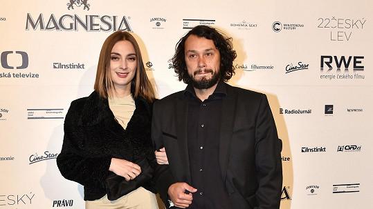 Barbora Poláková a Pavel Liška porpvé ve společnosti