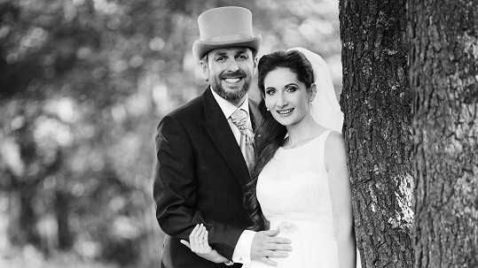 Novomanželé Tomáš a Monika Hauptvogelovi